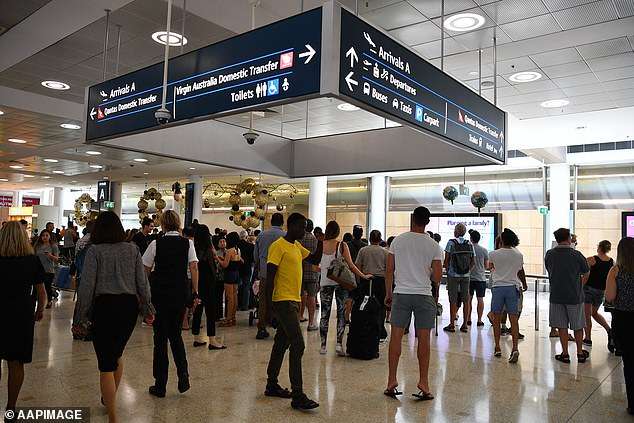Measles warning at Sydney and Canberra airports