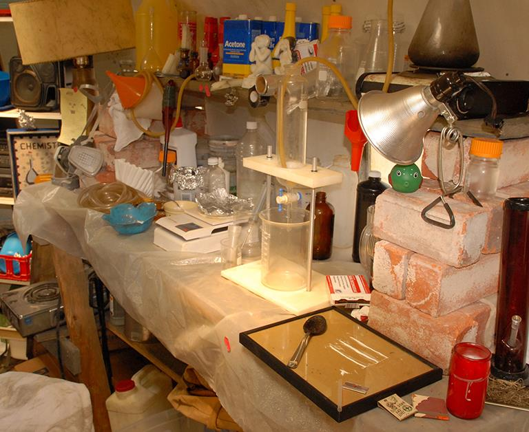 Vic trio jailed for clandestine meth lab