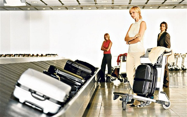 Kết quả hình ảnh cho hành lý sân bay