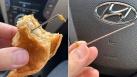 Bà mẹ Sydney hoang mang khi phát hiện kim loại trong bánh burger McDonald