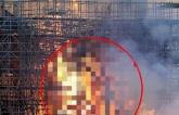 Cháy Nhà thờ Đức Bà Paris: Xôn xao hình ảnh Chúa Jesus hiện lên giữa biển lửa