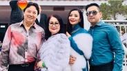 Nghệ sĩ Hồng Loan mất ngủ vì chăm con tại Mỹ