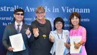 3 người khuyết tật được nhận học bổng du học Australia