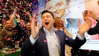 Diễn viên hài đã chiến thắng trở thành Tổng thống Ukraine