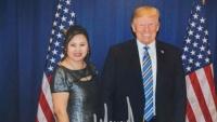Nữ doanh nhân gốc Hoa bị nghi ngờ quyên tiền trái quy định cho Trump