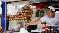 Độc đáo mở tiệm bánh mỳ trên xe tải ở Canada của chàng trai gốc Việt 23 tuổi