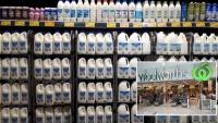 Úc: Woolworths tăng giá sữa từ hôm nay