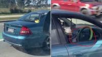 Úc: Nữ 'quái xế' chạy xe buông tay lái khi có trẻ em trong xe gây bão cộng đồng mạng
