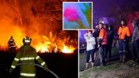NSW: 'Giặc' lửa hoành hành, hàng chục ngàn héc-ta đất và nhiều nhà cửa bị thiêu rụi