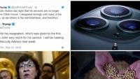 Thế giới đêm qua: Apple ra mắt iPhone 11 ba camera; Tổng thống Trump yêu cầu cố vấn an ninh từ chức