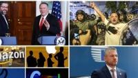 Thế giới đêm qua: Nhiều nhà lập pháp Mỹ ủng hộ dự luật dân chủ Hồng Kông; Slovakia cố gắng rũ bỏ ảnh hưởng của mafia