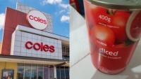 Úc: Mua phải hộp cà chua lẫn mảnh nhựa to đùng, bà mẹ trẻ khiếu nại Coles