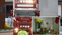 Nhìn lên bàn thờ với tấm di ảnh tạm, con thơ ngơ ngác khi mất bố sau vụ 39 thi thể trong container ở Anh: 'Mẹ ơi, sao bố lại nằm đó'
