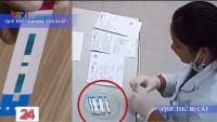 Việt Nam: Hàng nghìn que thử HIV, viêm gan B bị cắt đôi trước khi tiến hành xét nghiệm
