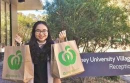 Du học sinh Việt tại Úc: Không chỉ xinh đẹp mà còn chăm chỉ mang cơm đến trường, 9X khoe cơm chay đủ màu sắc chỉ 40k